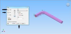 How to Model Allen Key M16 using Autodesk Inventor-6