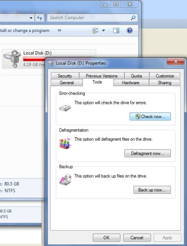HOW TO CHECK FOR SYSTEM ERROR ON STORAGE DEVICES