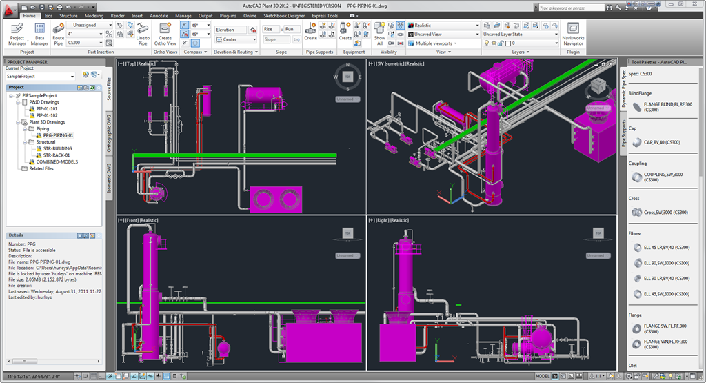 Autocad plant 3d training in lagos nigeria 12th 30th for Autodesk online home design