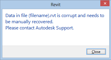 How to reduce corrupt files in Revit