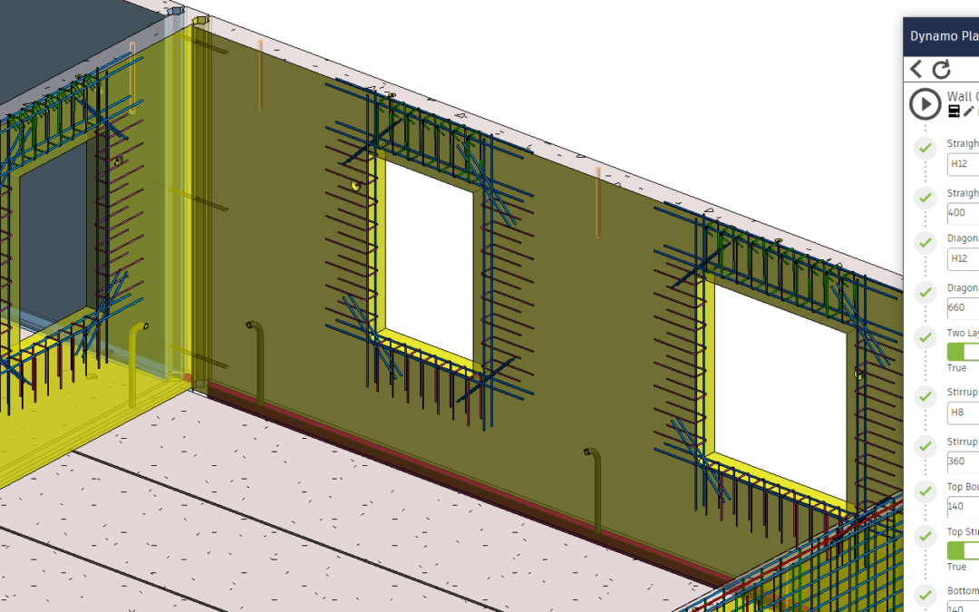 Learning the Power of Dynamo for Automated Reinforcement Detailing – Part 1