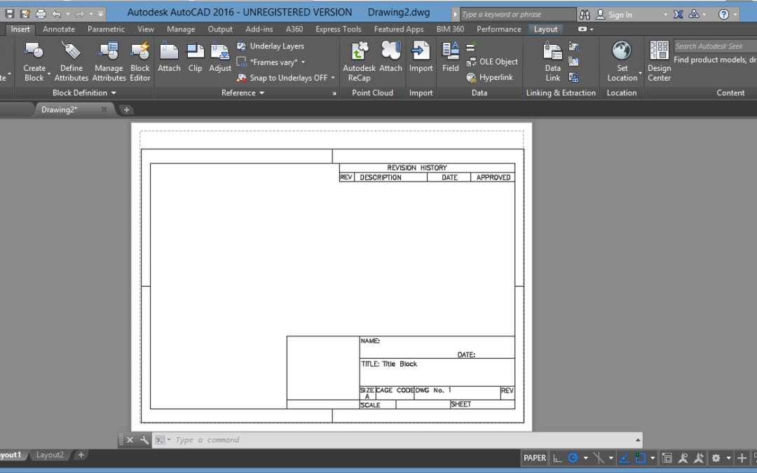 Automate Title Block Data in AutoCAD