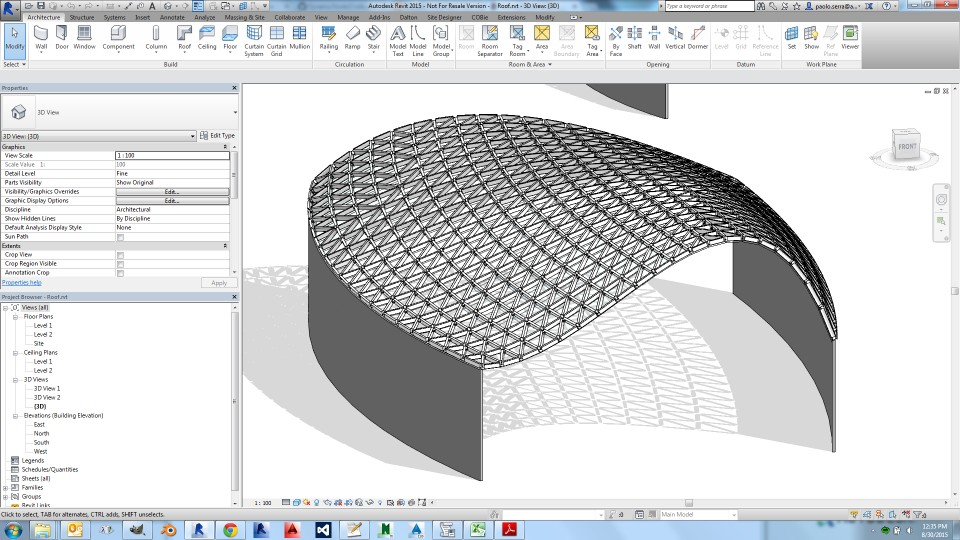 How to Load steel connection using dynamo revit