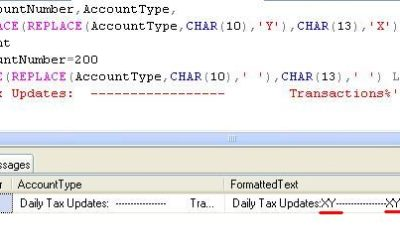How to use the REPLACE keyword in SQL 1