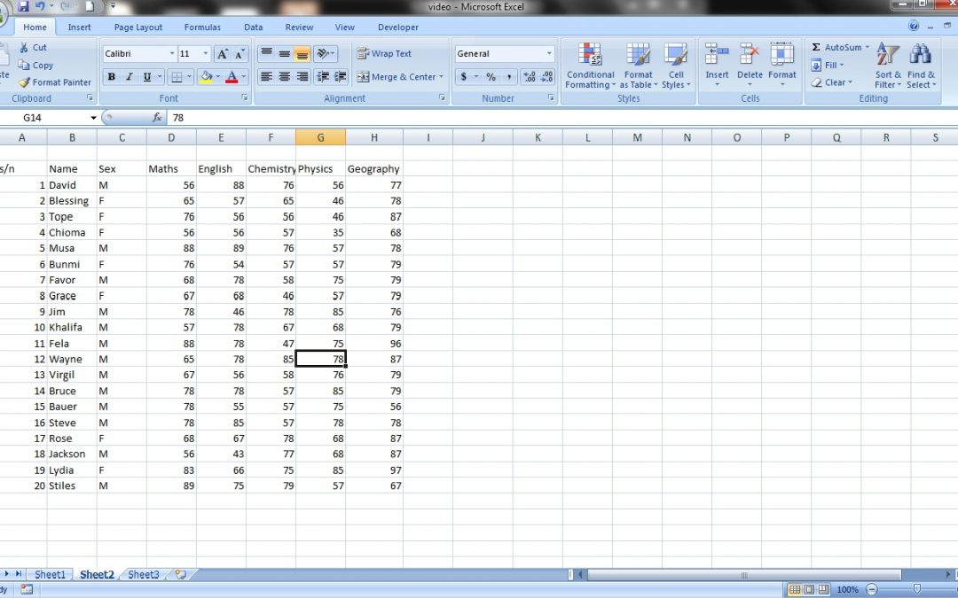 How to Format Text in MS Excel