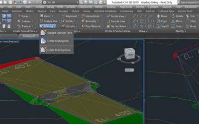 Civil 3D Gradings and Site Designs