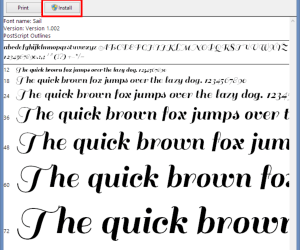 How to Add More Fonts in CorelDraw