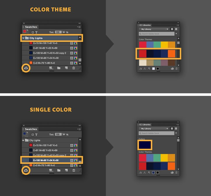 Indesign Color Swatch